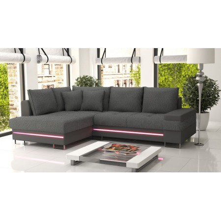 ecksofa mit beleuchtung beautiful schnes schlafsofa schwarz leder ecksofa schwarz sofas aus. Black Bedroom Furniture Sets. Home Design Ideas