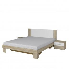 Ehebett mit Zwei Nachttische