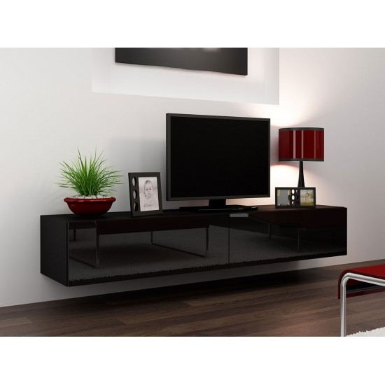 Hänge Lowboard-TV Volke 180