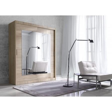Kleiderschrank Malfa 150 mit Spiegel