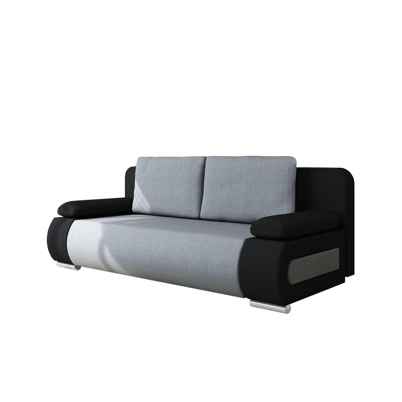 Sofa Sisto mit Bettkasten und Schlaffunktion - x-moebel24