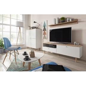 Wohnzimmer-Set Ovel II