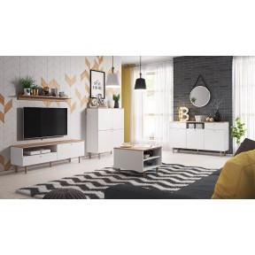 Wohnzimmer-Set Ovel IV