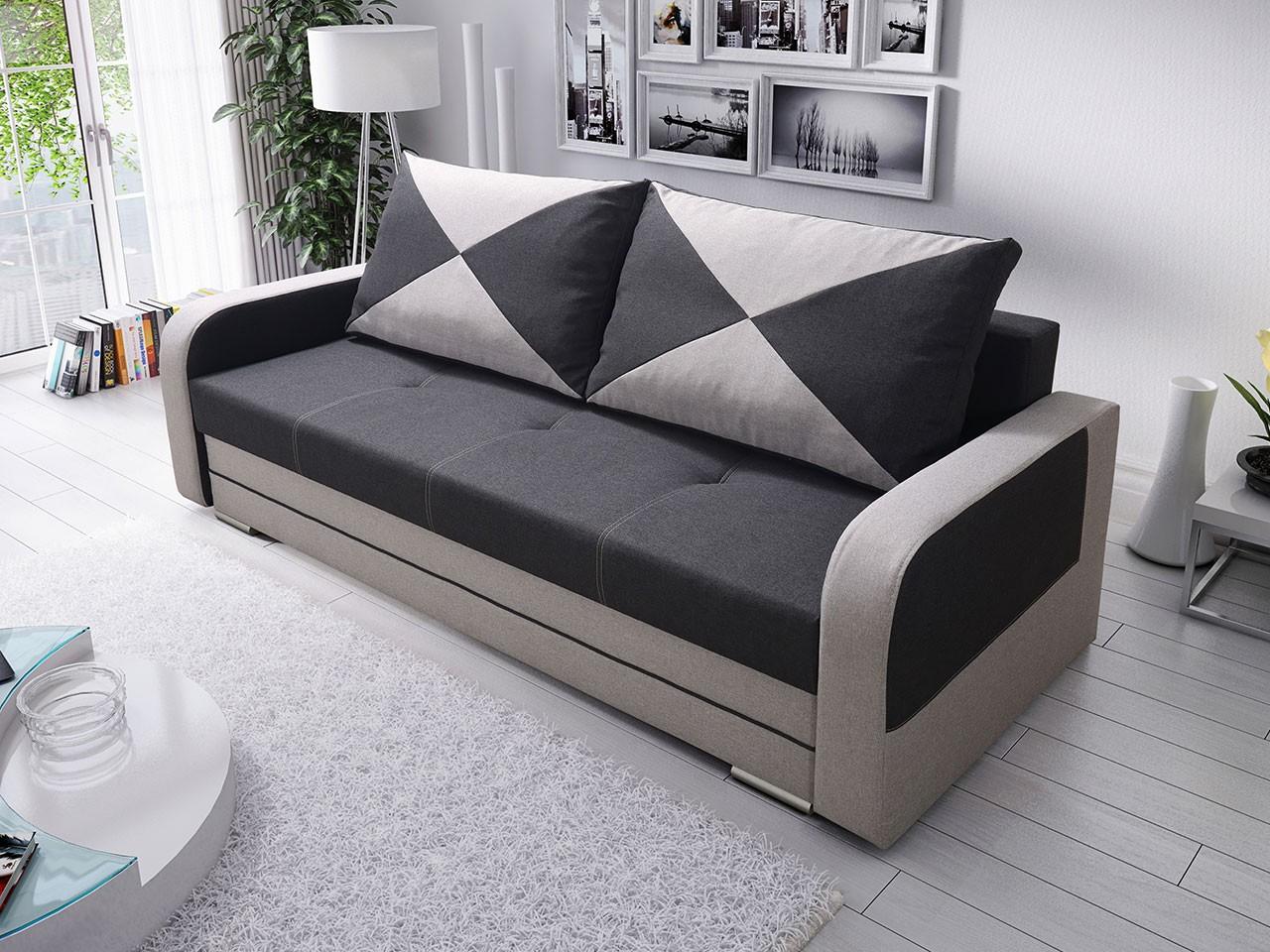 sofa mint mit bettkasten und schlaffunktion x moebel24. Black Bedroom Furniture Sets. Home Design Ideas