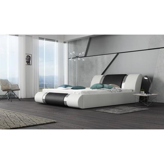 Polsterbett Kolein mit Lattenrost und Bettkasten