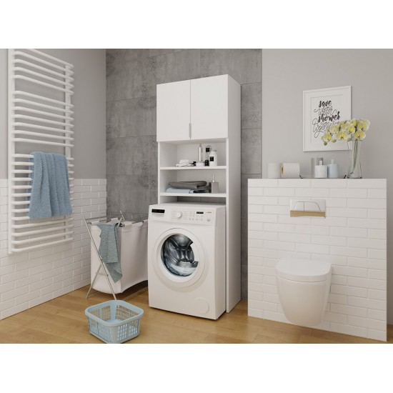 Badezimmerschrank für die Waschmaschine Polly