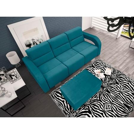 Sofa Esenia mit Polsterhocker