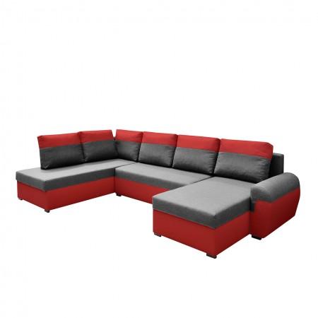 Ecksofa Rheon XL mit Bettkasten und Schlaffunktion