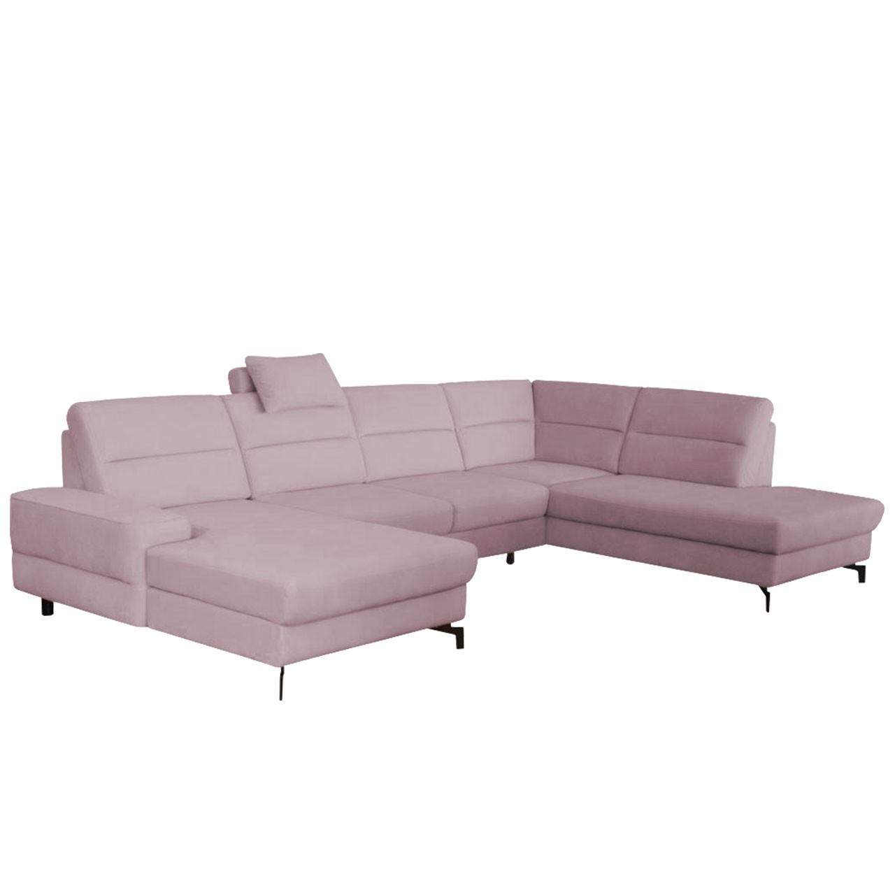 wohnlandschaft caribe mit bettkasten und schlaffunktion. Black Bedroom Furniture Sets. Home Design Ideas