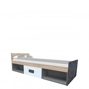Jugendbett mit Bettschublade Stasa ST11