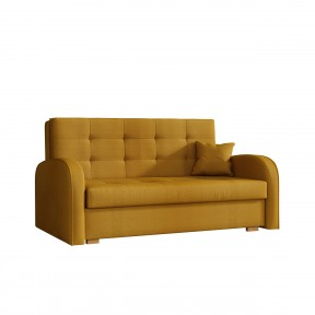 Sofa Butter Gold III mit Schlaffunktion und Bettkasten