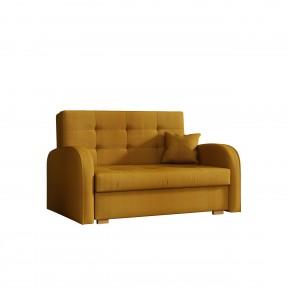 Sofa Butter Gold II mit Schalffunktion und Bettkasten