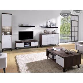Wohnzimmer-Set Vodie Gloss I