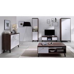 Wohnzimmer-Set Vodie Gloss II