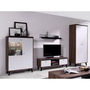 Wohnzimmer-Set Vodie Gloss III