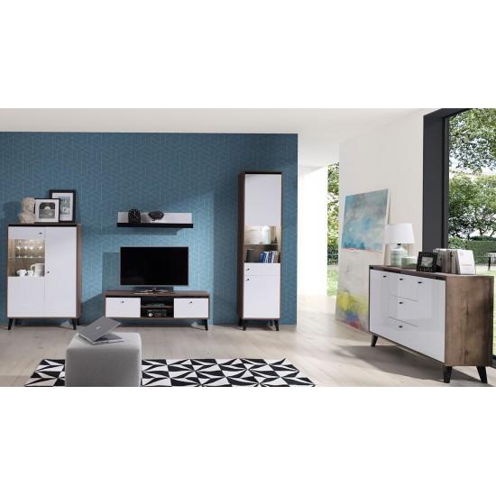 Wohnzimmer-Set Vodie Gloss IV