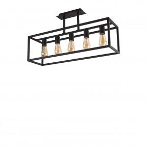 Deckenleuchte Crate Black 9047