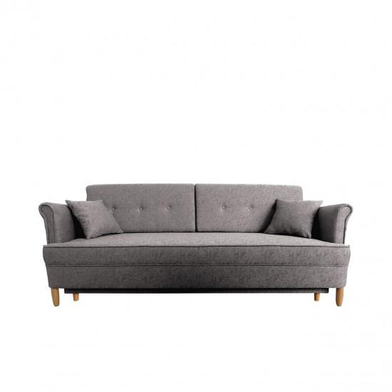 Sofa DL Samos mit Bettkasten und Schlaffunktion