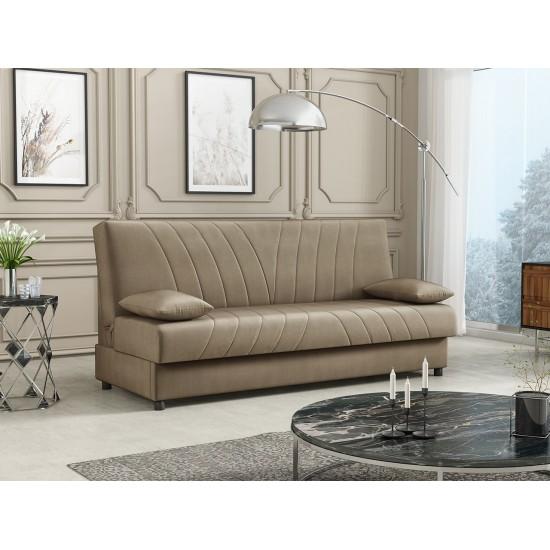 Sofa Amos mit Schlaffunktion und Bettkasten