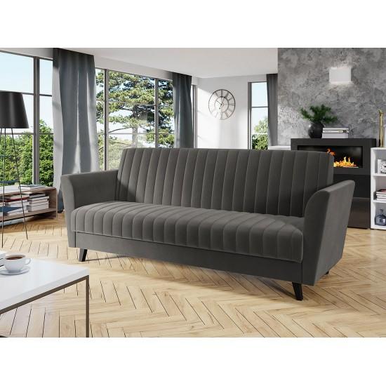 Sofa Saga mit Bettkasten und Schlaffunktion