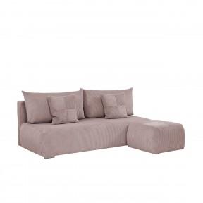 Sofa Alessio mit Polsterhocker