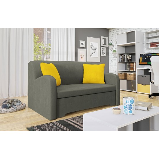 Sofa Graz II mit Schlaffunktion und Bettkasten