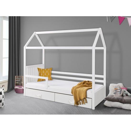 Jugendbett mit Geländer Broome II 80