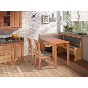 Eckbank + Tisch und zwei Stühle Ciaso III