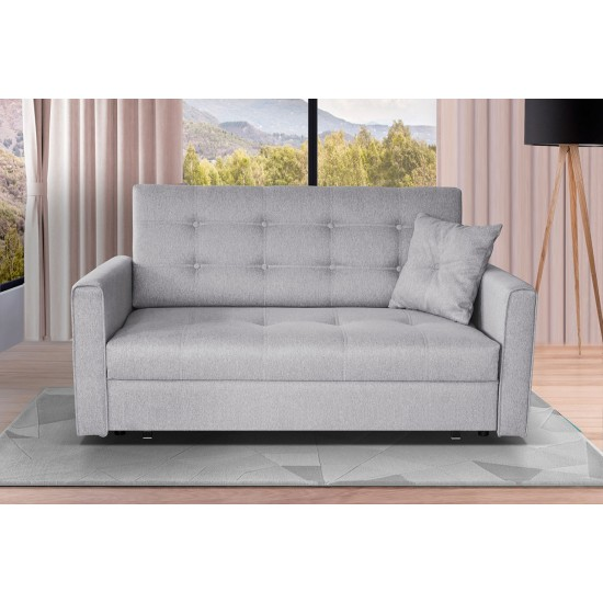 Sofa Butter Lux III mit Schalffunktion und Bettkasten