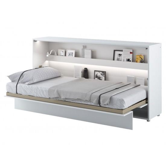 Wandklappbett Bed-Concept BC-06 Horizontal 90x200