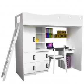 Jugendbett mit Schreibtisch Clonel